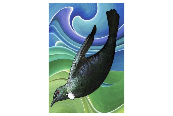 Tui in Flight: Card