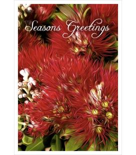Pohutukawa (Seasons Greetings): Card