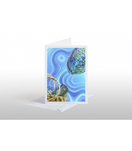 Paua and Kete: Card