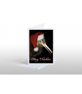 Christmas Kiwi (Merry Christmas): Card