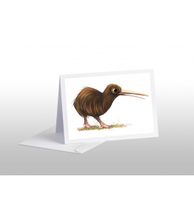 Brown Kiwi : Card