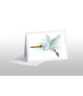 Kotuku, the White Heron: Card