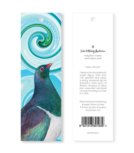 Kereru Portrait Bookmark
