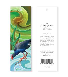 Wading Pukeko Bookmark