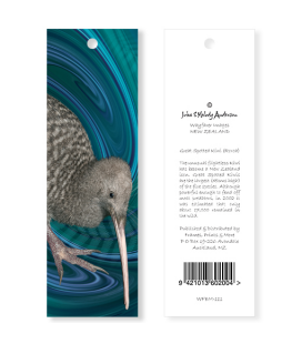 Great Spotted Kiwi Bookmark